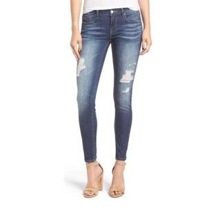 VIGOSS The Chelsea Skinny Distressed Denim